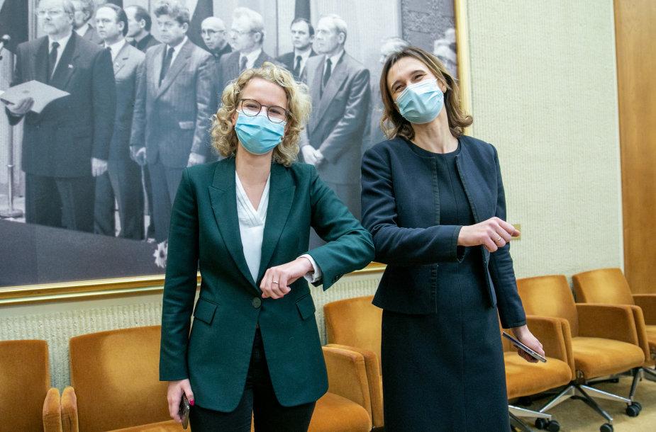 Aušrinė Armonaitė ir Viktorija Čmilytė-Nielsen