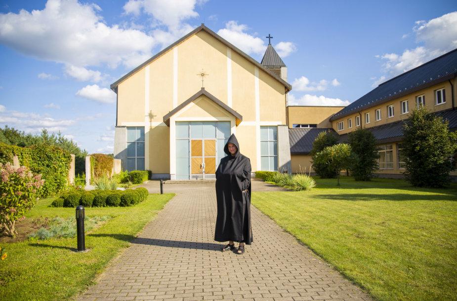 Palendrių Šv. Benedikto vienuolyno akimirka