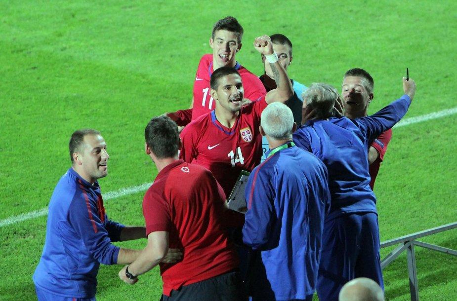 Ljubinko Drulovičiaus treniruojami serbai tapo Europos U-19 čempionais