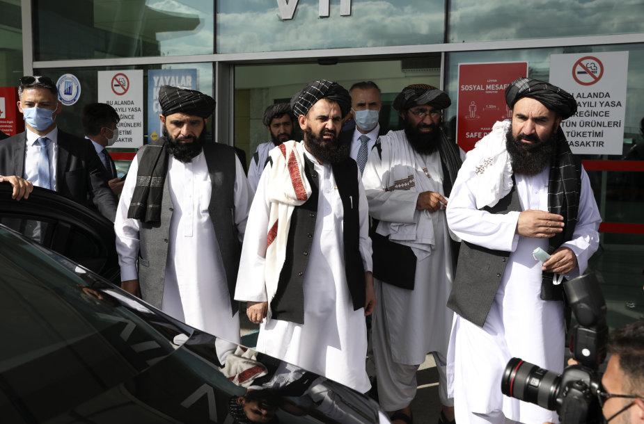 Talibano delegacija Turkijoje