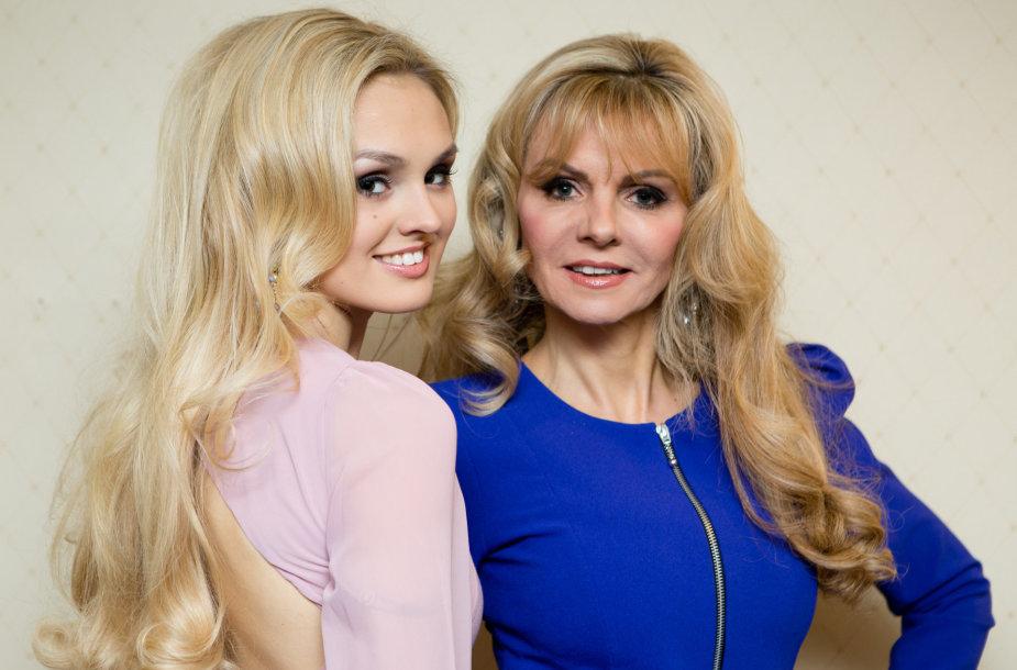 Mama Kasha (dešinėje) ir dukra Misha Grimes