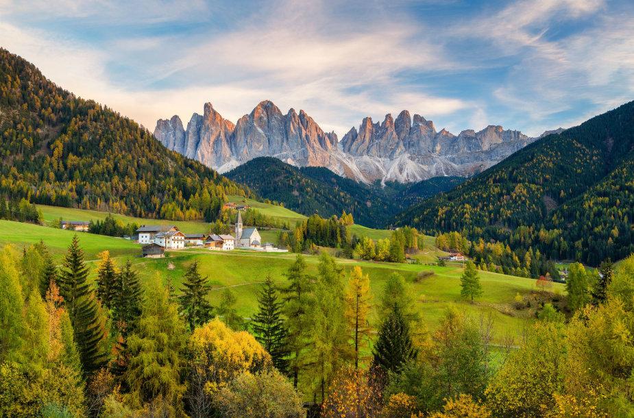Dolomitinės Alpės Italijoje