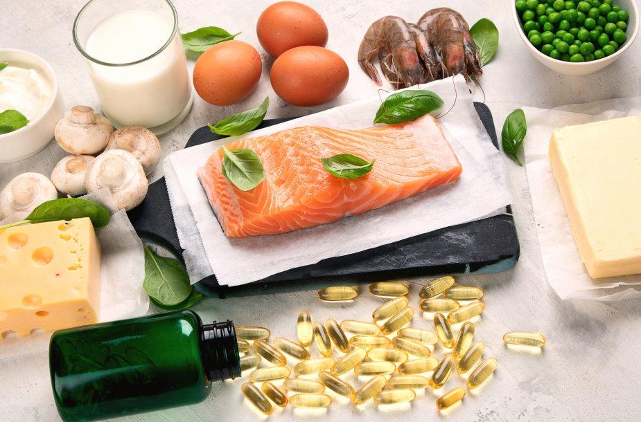 Vitamino D šaltiniai