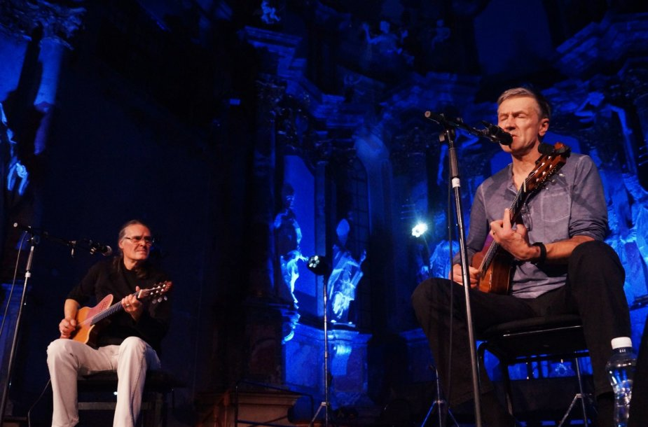 Olegas Ditkovskis ir Saulius Bareikis