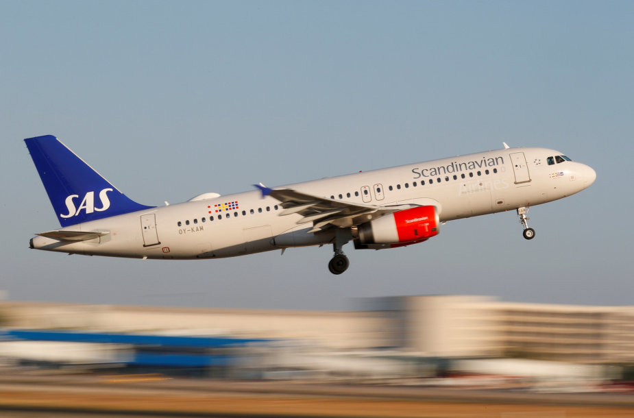 SAS oro linijos
