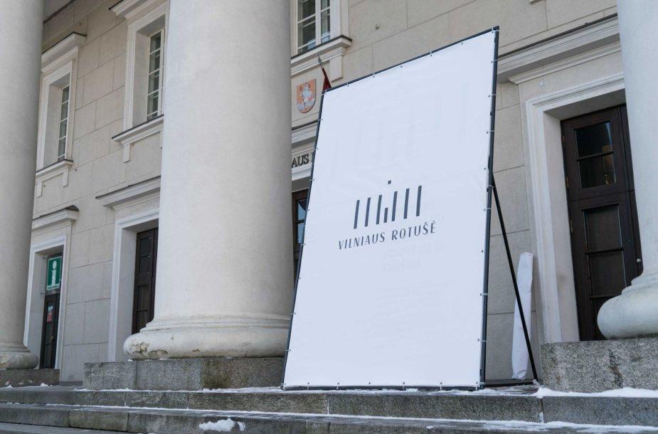 Vilniaus rotušės logotipo pristatymas