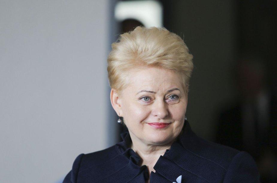 Prezidentė Dalia Grybauskaitė lankėsi Vilniaus Šolomo Aleichemo ORT gimnazijoje