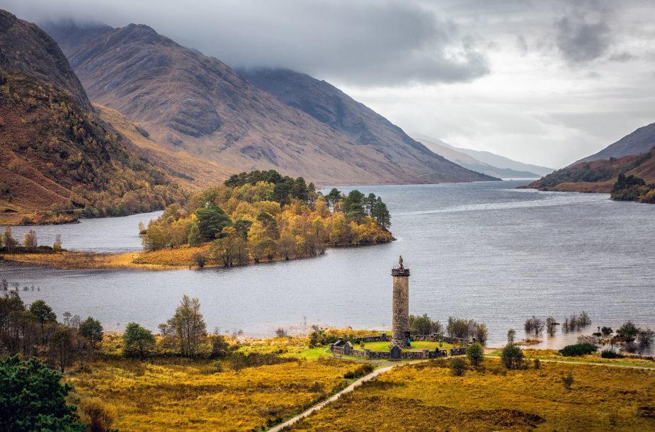 Glenfinnan, Škotijos aukštumos