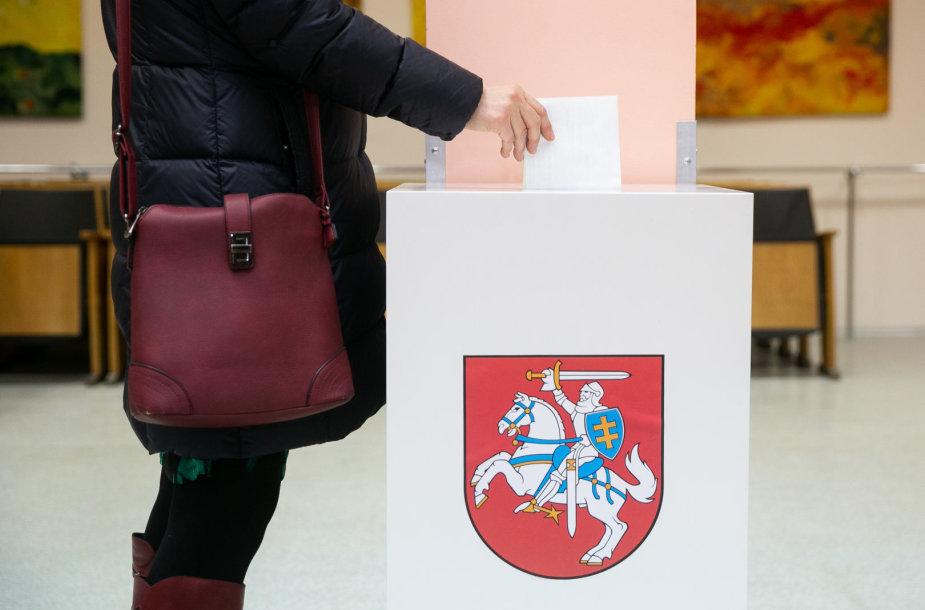 Lietuvoje prasidėjo Savivaldos rinkimai
