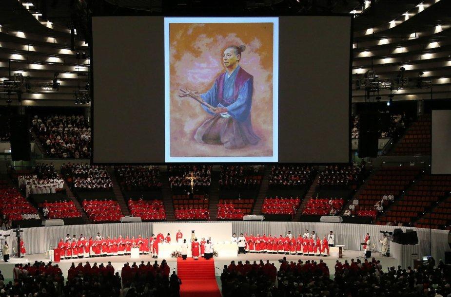 Katalikų Bažnyčia beatifikavo japonų samurajų Takayama Ukoną