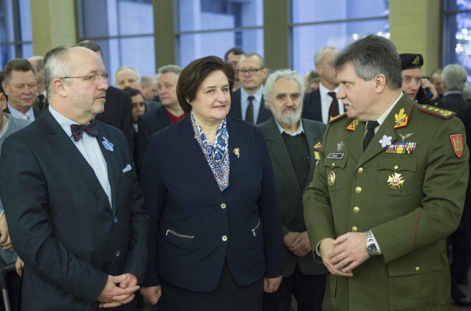 Juozas Olekas, Loreta Graužienė ir Vytautas Jonas Žukas