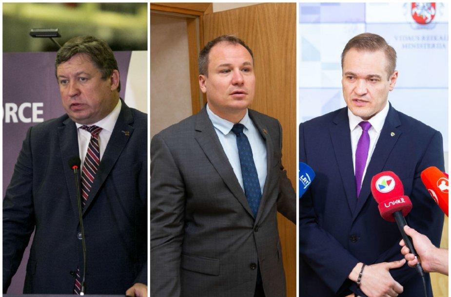 Raimundas Karoblis, Giedrius Surplys, Eimutis Misiūnas