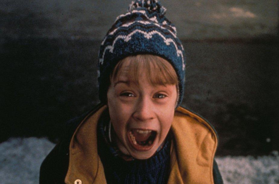 """Macaulay Culkinas filme """"Vienas namuose 2"""""""