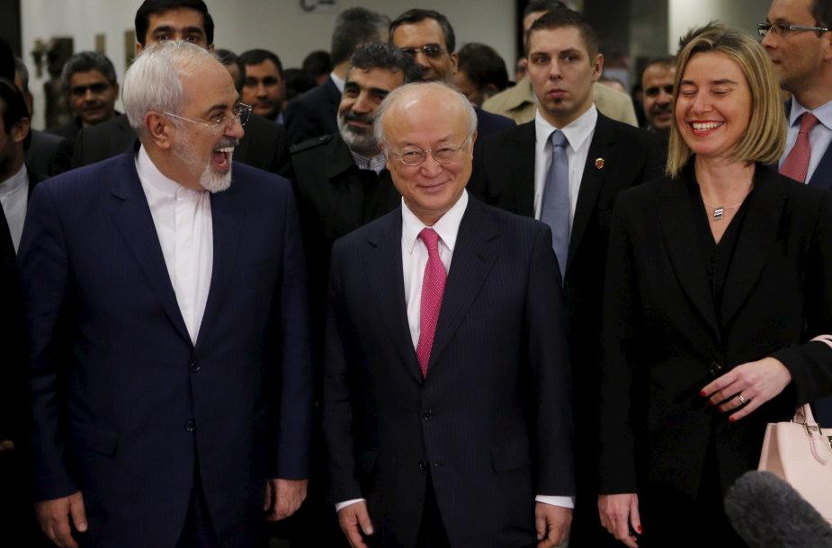 Iranui atšauktos sankcijos