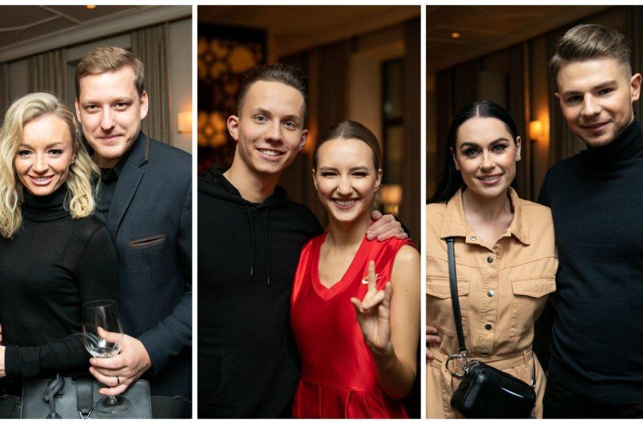 Ugnė ir Saulius Sipariai, Gedvinas Meškauskas ir Paula Valentaitė, Simona Nainė ir Ligitas Bernatavičius
