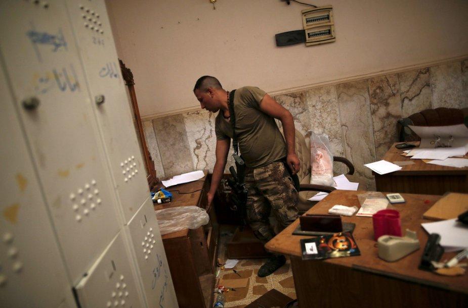 """Buvęs """"Islamo valstybės"""" kalėjimas Mosule"""