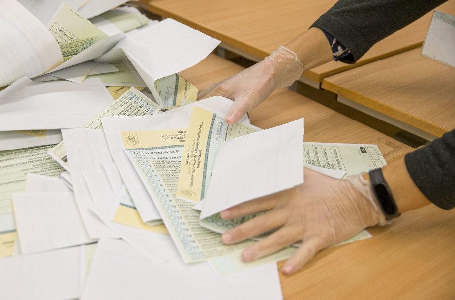 Seimo rinkimai 2020, balsų skaičiavimas