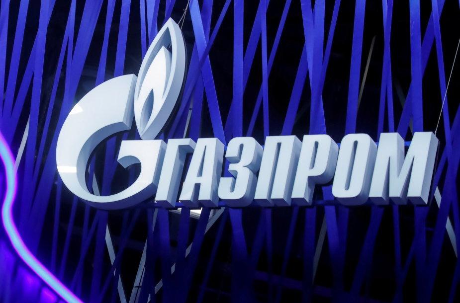"""Gazprom"" logotipas"
