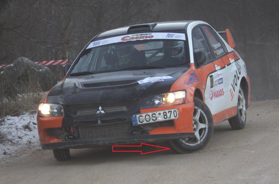 """Eugenijaus Michalausko """"Mitsubishi Evo"""""""