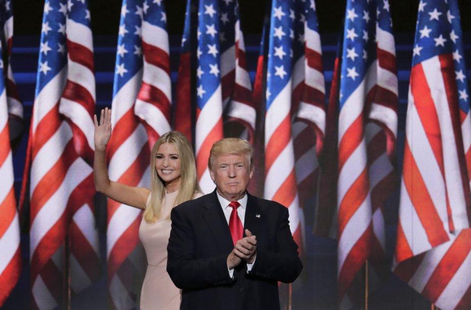 Paskutinė JAV respublikonų suvažiavimo Klivlende diena