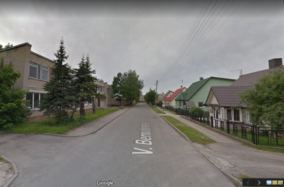 V.Bernotėno gatvė Radviliškyje