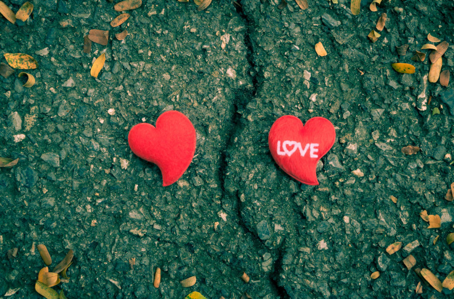 Perskirtos širdys