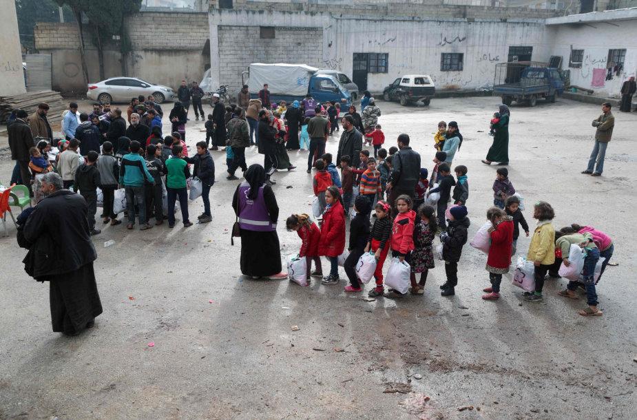 Pabėgėliai Idlibe