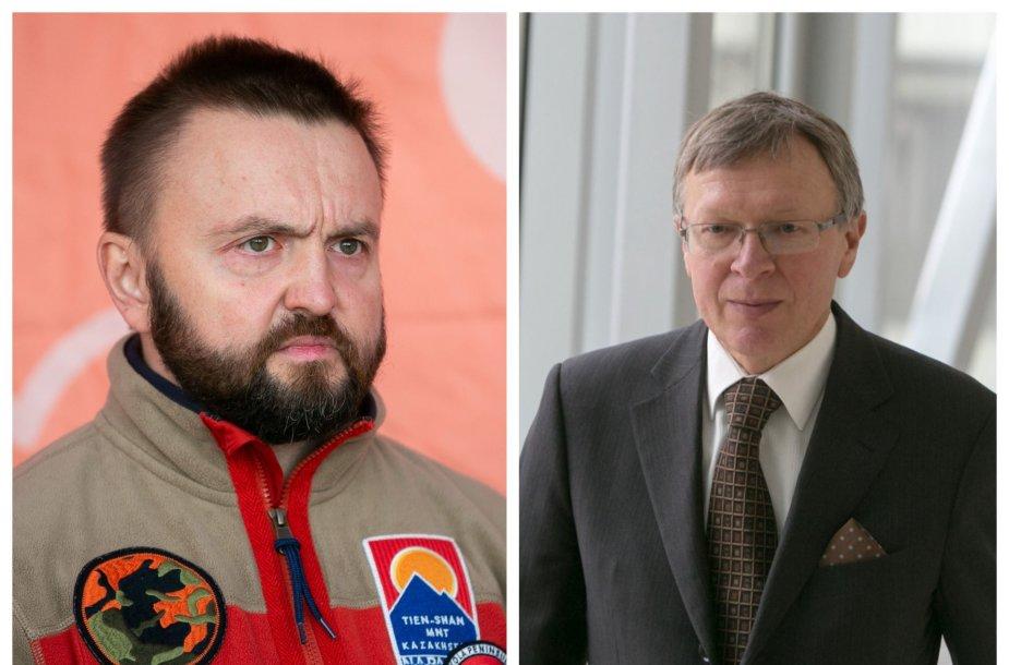 Stanislavas Stavickis-Stano ir Kęstutis Masiulis