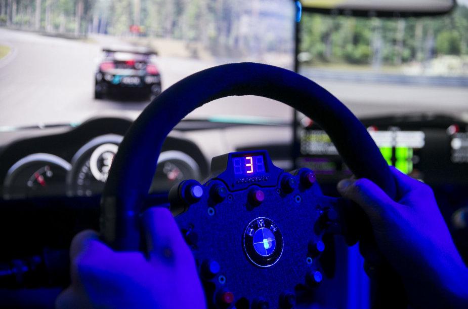 """Virtualių lenktynių čempionato """"Neste Dream 2 Drive"""" finalas"""