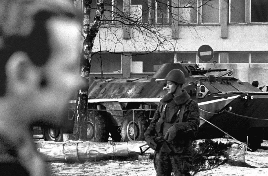 """Fotografo Viliaus Jasinevičiaus ciklas """"1991 m. sausio įvykiai"""""""