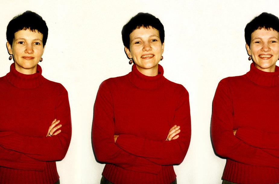 Daiva Parulskienė 2000 m.