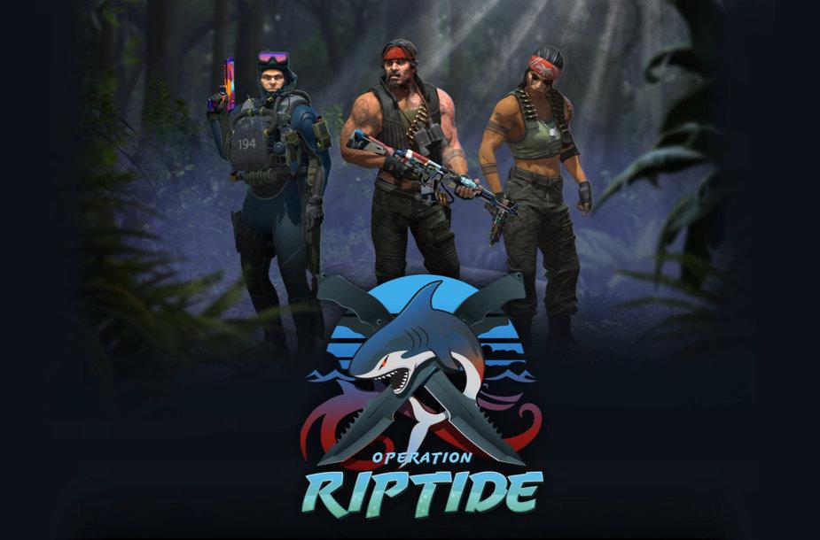 "CS:GO Operacija ""Riptide"""