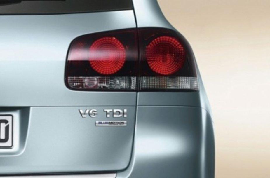 VW Touraeg Bluemotion