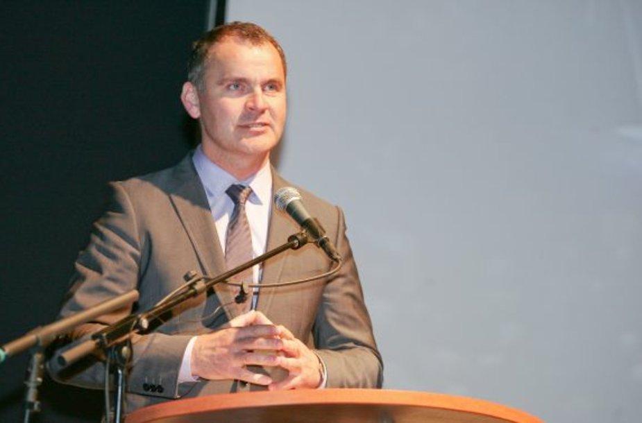 Viceministras Aušrys Macijauskas
