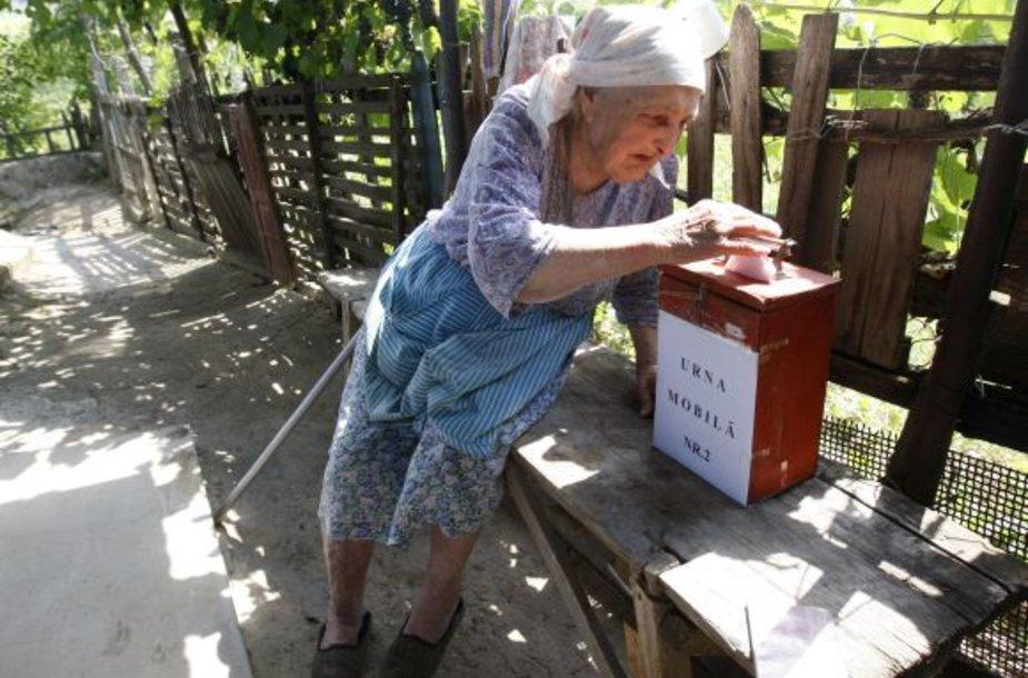 Rinkimai Moldovoje
