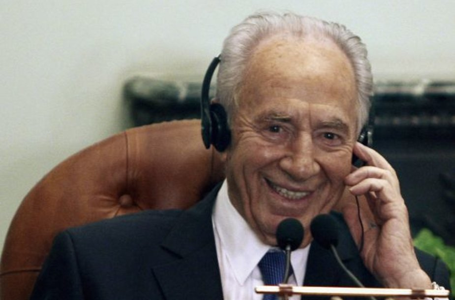 Shimonas Peresas, Izraelio prezidentas