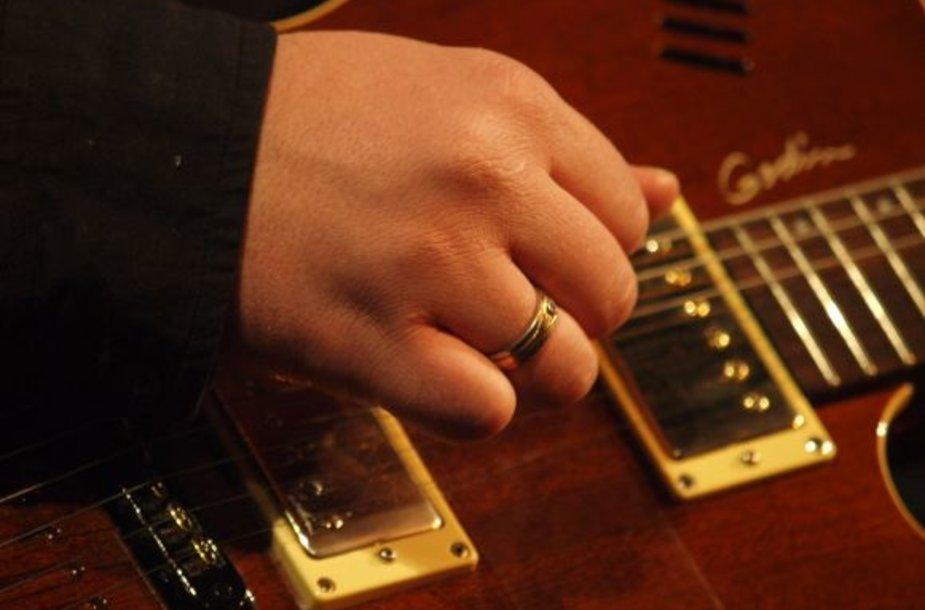 Gitaros stygos