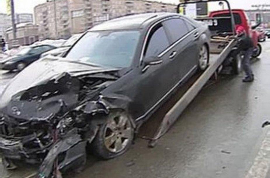 Mercedes po avarijos