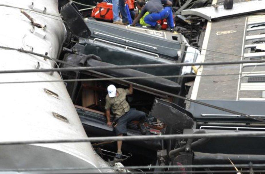 Traukinio katastrofa Pietų Afrikoje