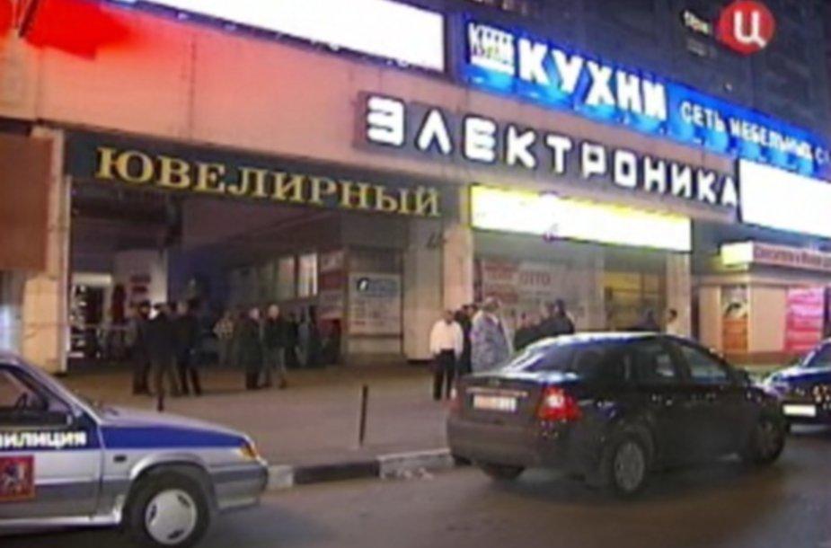 Bankininko M.Daudovo nužudymo vieta