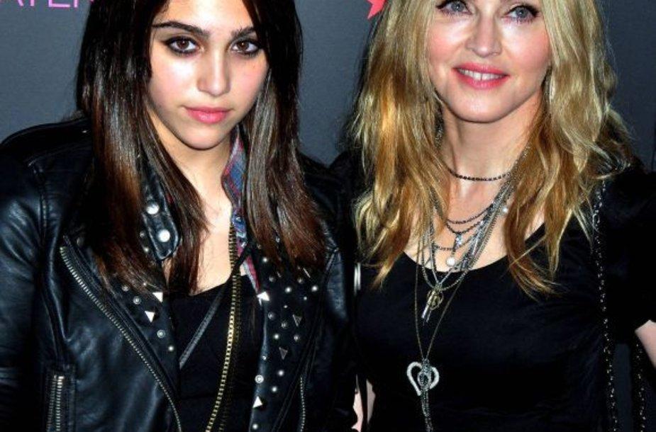 Madonna su dukra Lourdes