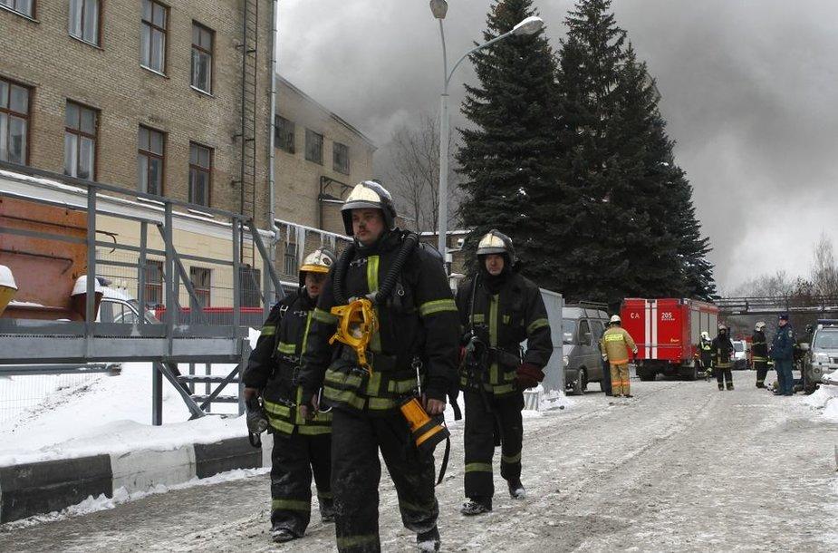 Maskvos ugniagesiai