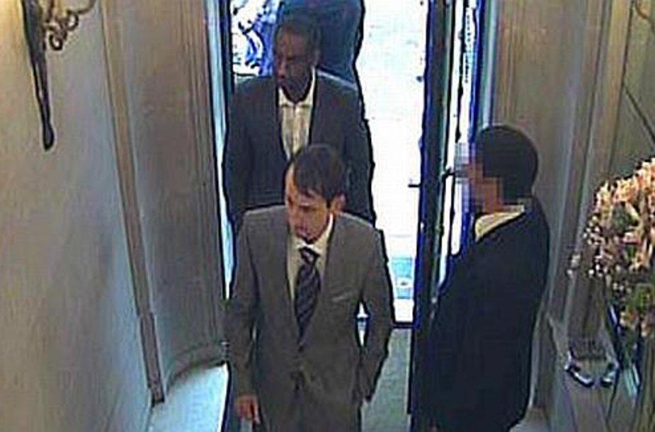 Parduotuvės vaizdo kameros įamžino abu nusikaltėlius