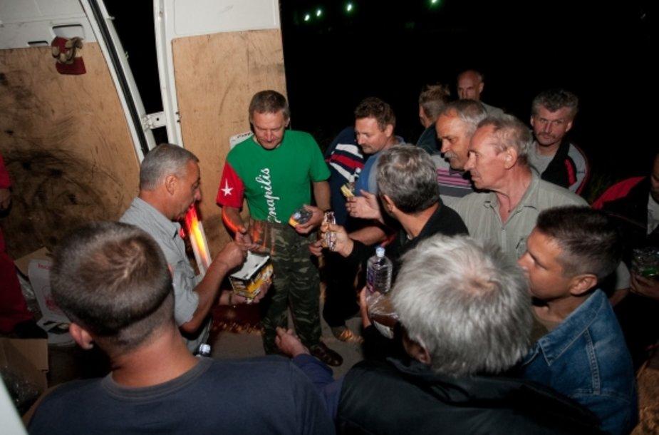 Lietuvos vežėjai antradienio vakarą sulaukė pagalbos.
