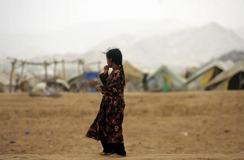 Pabėgėlių stovykla Jemene