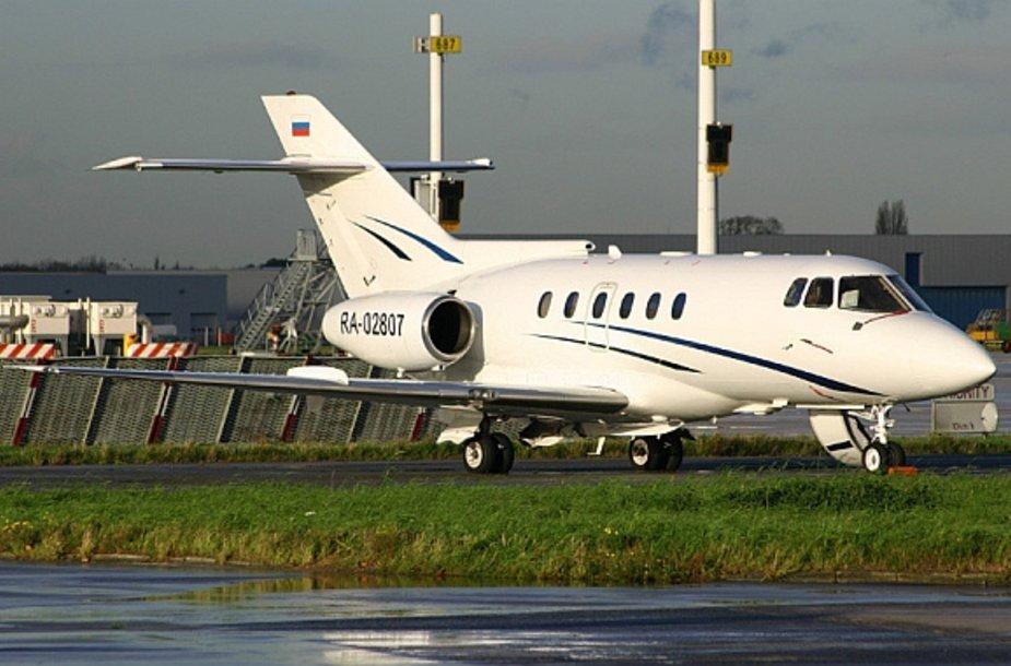 """Sudužęs kompanijos """"S-Air"""" lėktuvas """"Hawker-125-800"""""""