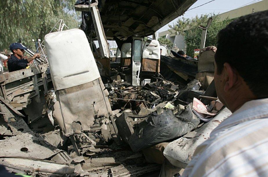 Teroro išpuolis Kerbeloje