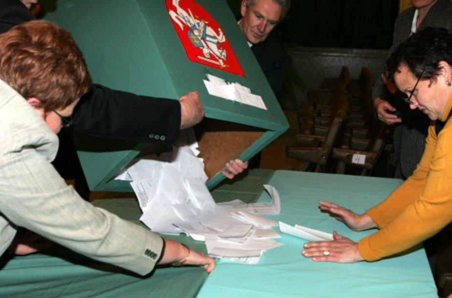 Šiemet Seimo rinkimuose dalyvaus 21 partijos atstovai.