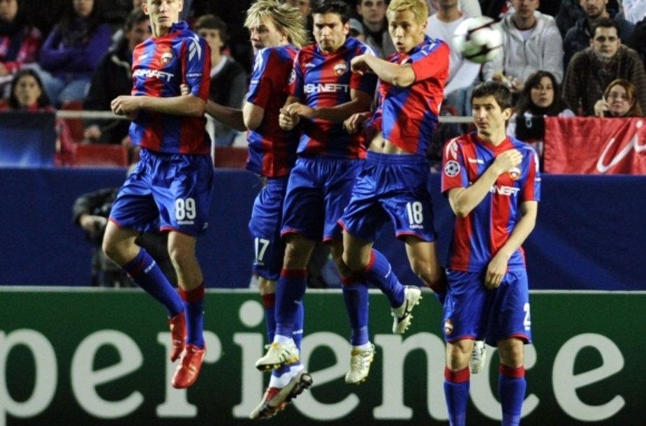 Maskvos CSKA iškopė į UEFA Čempionų lygos ketvirtfinalį.