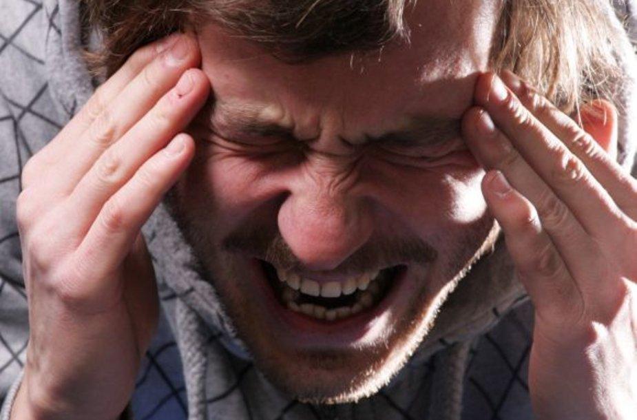 Mokslininkai įrodė – keikdamiesi greičiau įveiksite skausmą.